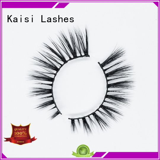 Kaisi factory supply best artificial eyelashes custom fast delivery