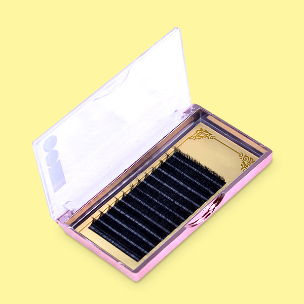 Different styles mink fur natural eyelash extensions