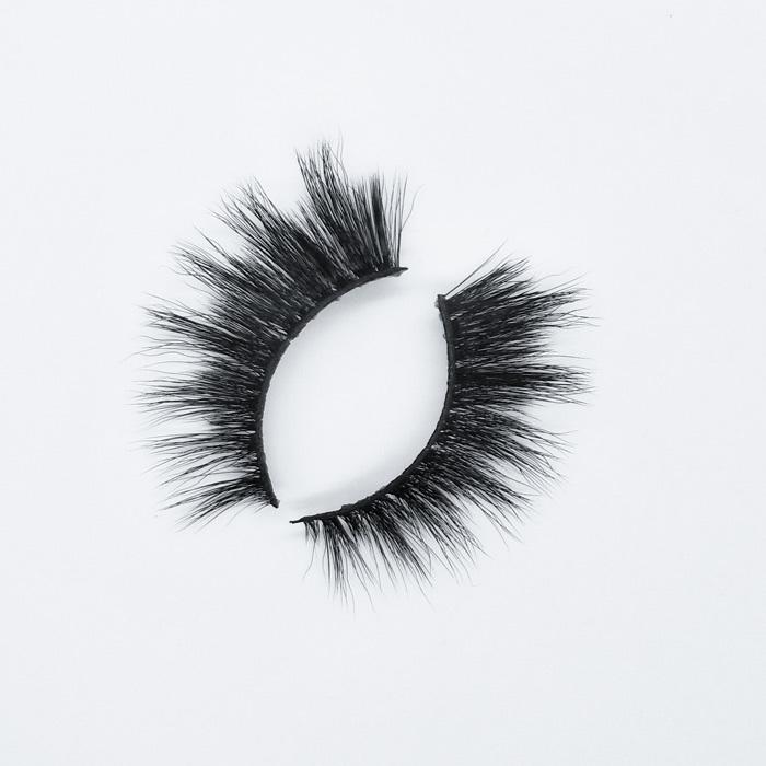 2019 new style own brand faux mink lashes 3d eyelashes wholesale synthetic mink eyelashes