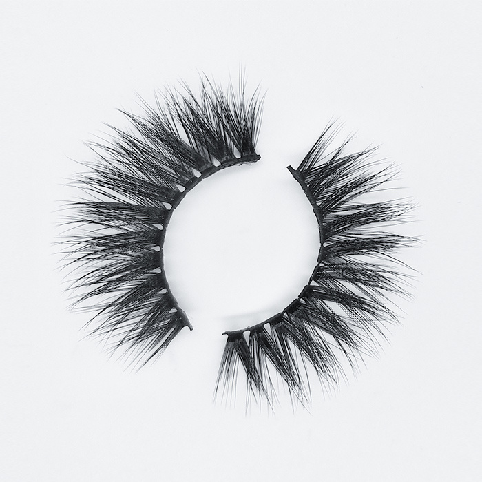 Latest 3d fake eyelashes synthetic false lashes with custom box