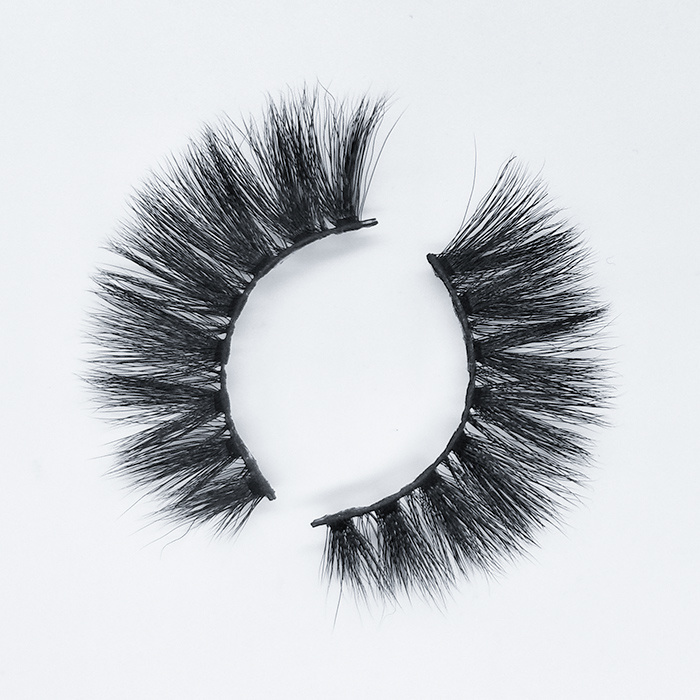 Private label eyelashes natural looking 3D faux mink lashes with OEM packaging