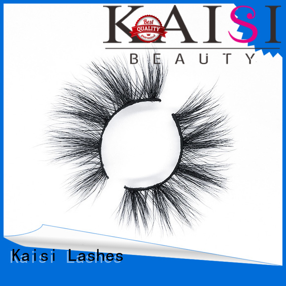 Kaisi hot-sale best fake lashes custom for makeup