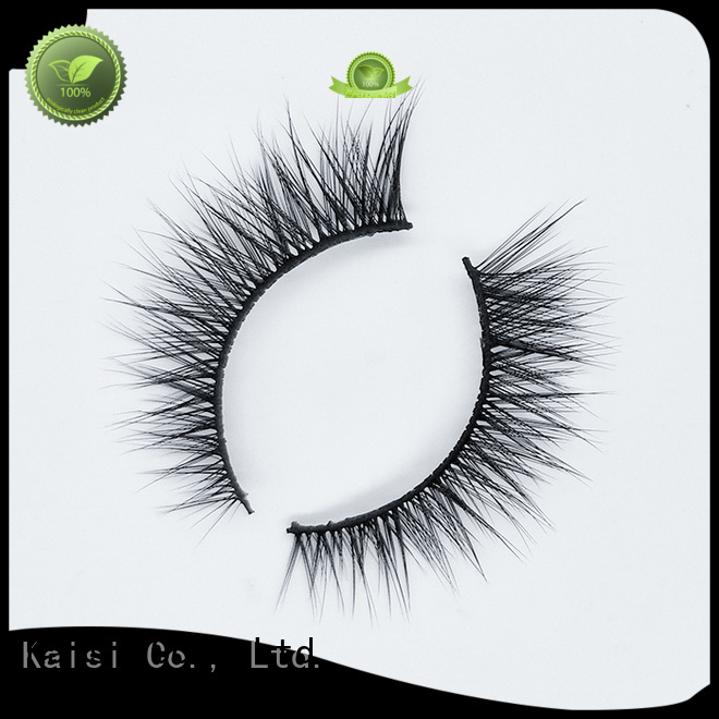 Kaisi best artificial eyelashes oem&odm fast delivery