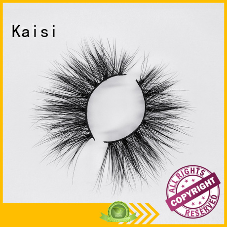 Kaisi 25mm mink lashes natural looking competitive price