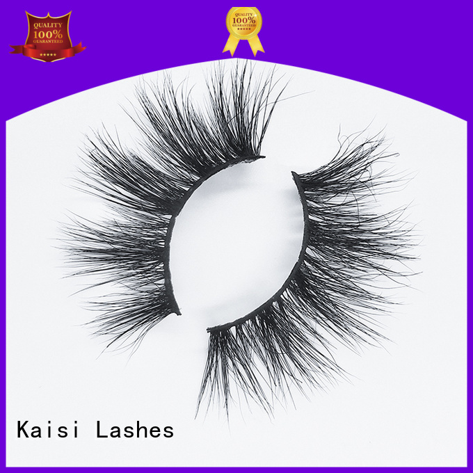Kaisi mink 3d hair lashes factory direct supply high quality