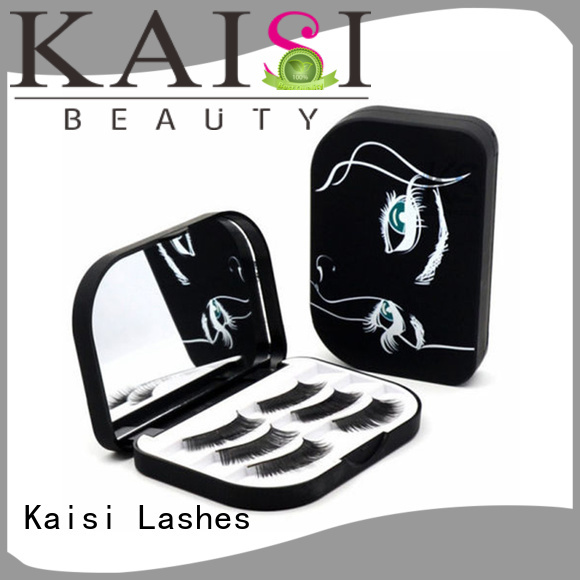 Kaisi oem&odm wholesale custom eyelash packaging box top brand for eyes