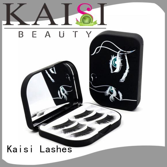 Kaisi oem&odm wholesale custom eyelash packaging box top brand for eyes
