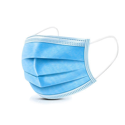 3 Ply Non-woven Disposable Face Mask Against Coronavirus And Dust