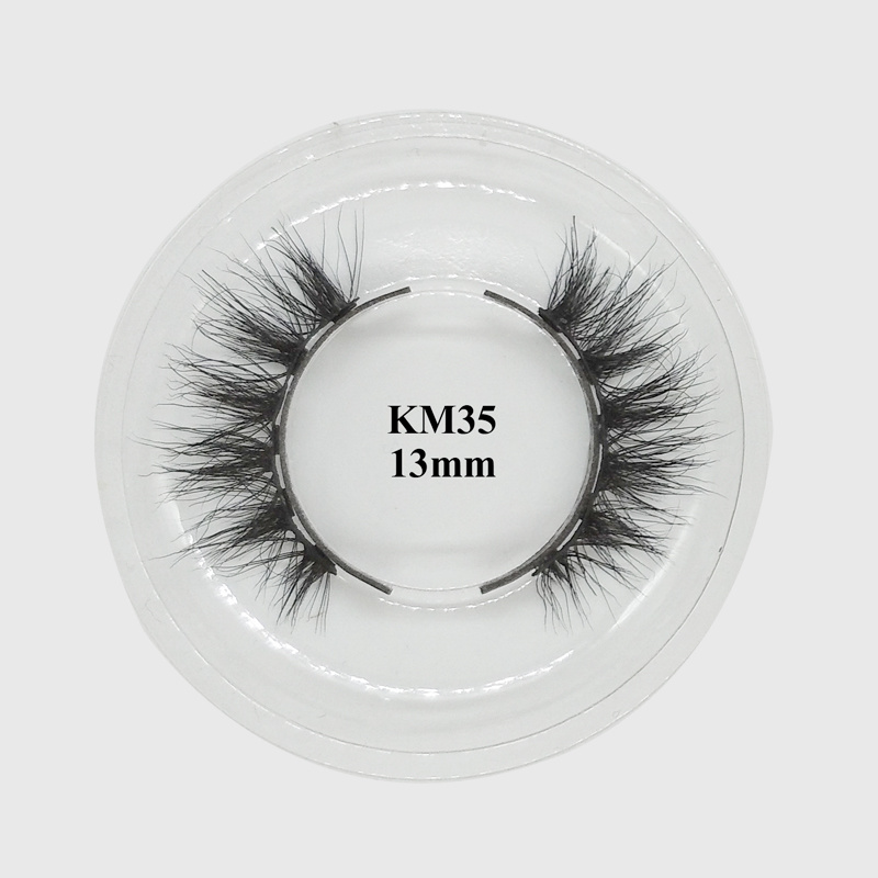 Real mink 3d custom packaging best magnetic eyeliner and lashes