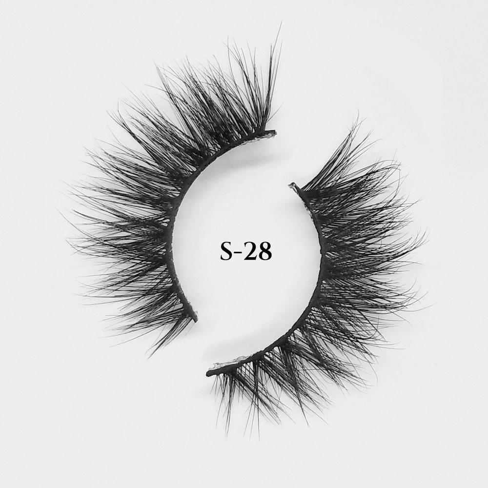 3D 15MM strip eyelashes wholesale custom packaging mink lashes bulk