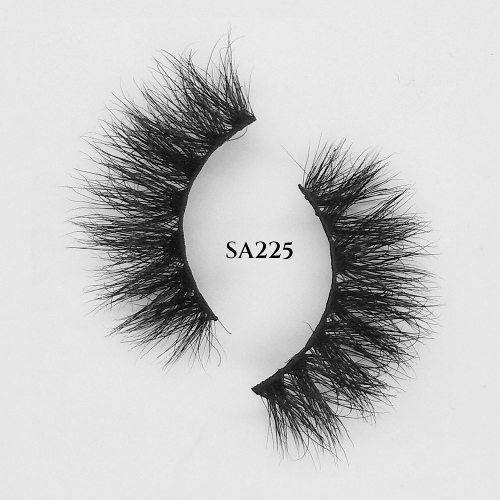 Fluffy eyelashes wholesale 15mm 3d mink lashes bulk