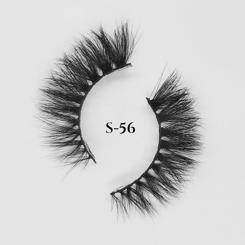 Lovely looking 15mm eyelashes vendors Wholesale mink lashes in bulk