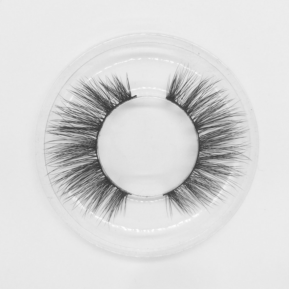 Natural cheap vegan private label wholesale 3d faux mink lashes