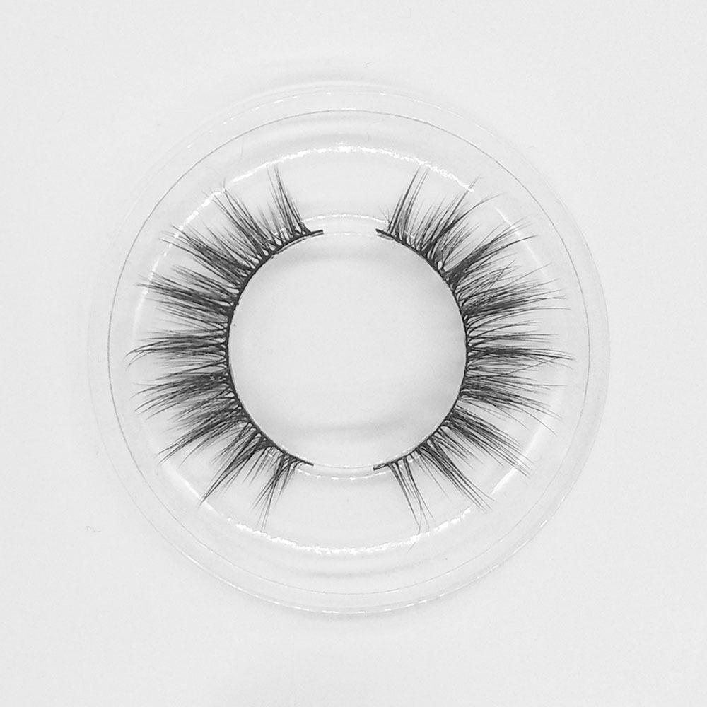 Natural 3D eyelashes wholesale private label faux mink lashes