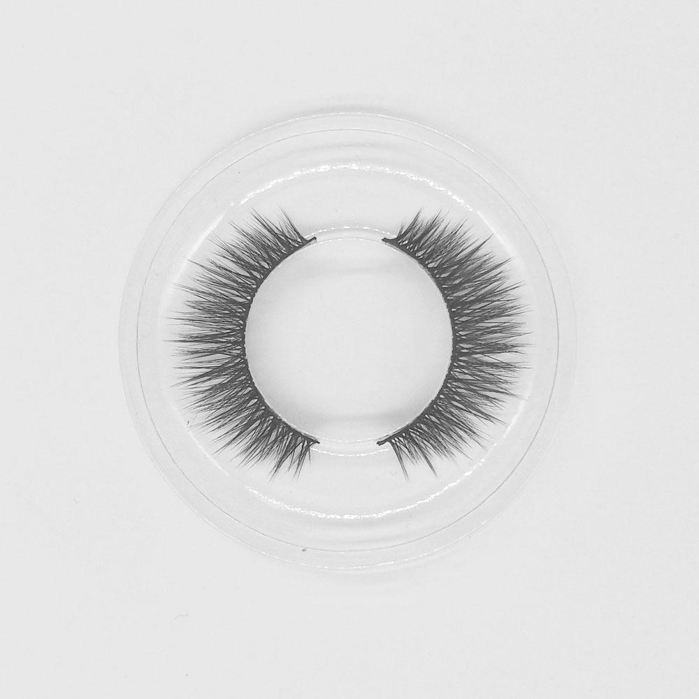 10MM Short eyelashes private label faux mink lashes