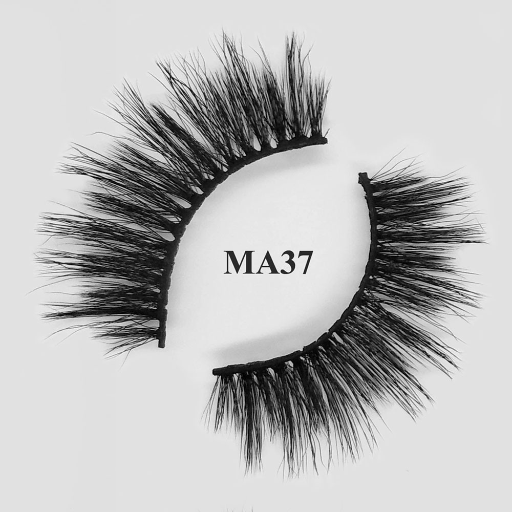 3d faux mink eyelashes cheap eye lashes private label wholesale lashes MA37