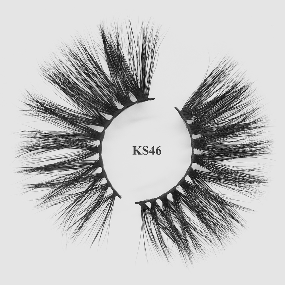 Create your own brand siberian private label mink lashes 3d mink eyelashes KS46