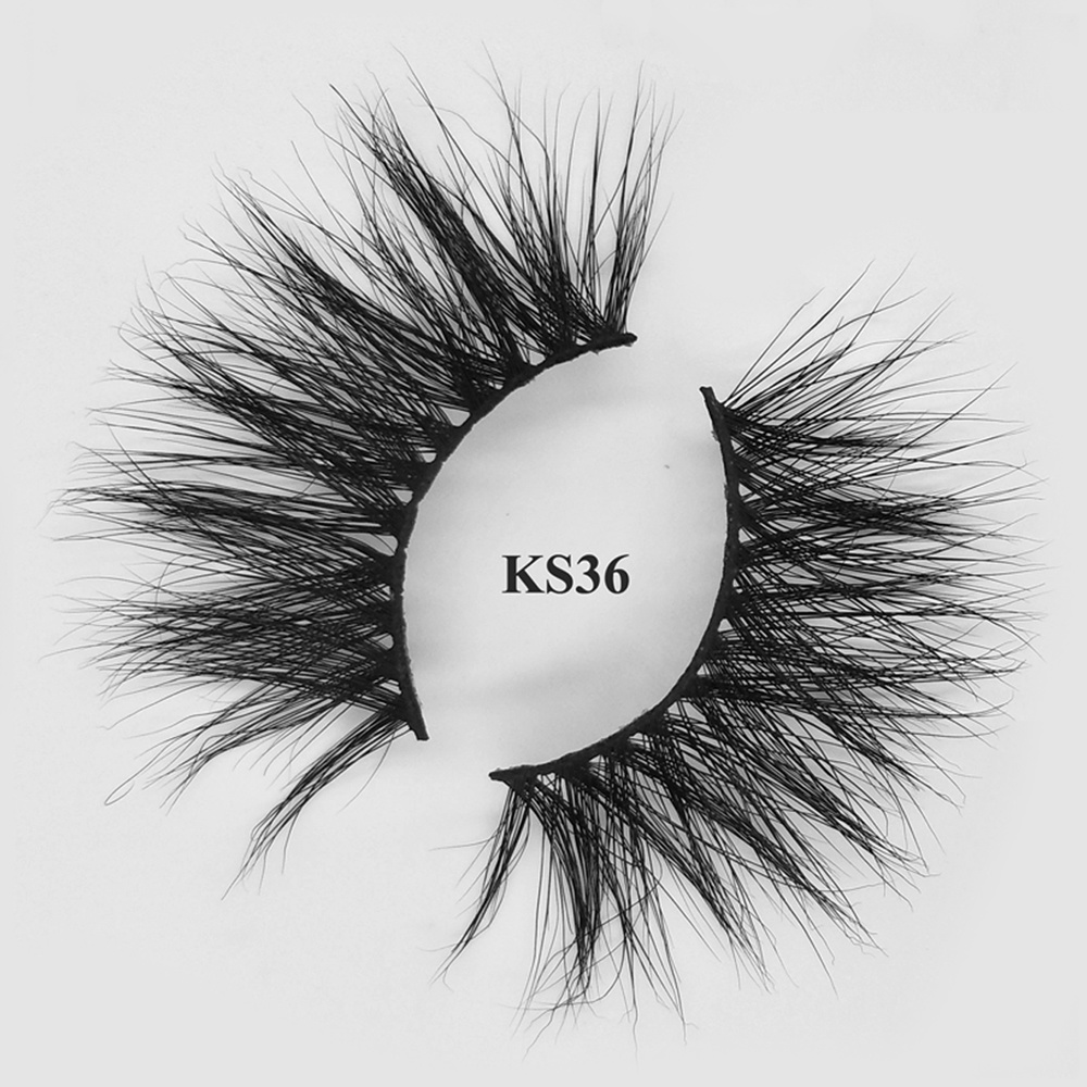 100% real mink fur eyelashes dropshipping wholesale mink lashes vendors  with oem packaging