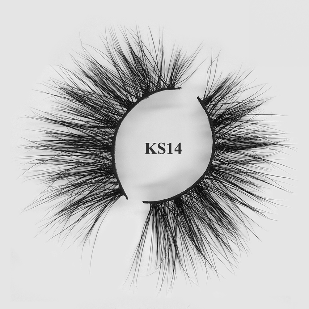 5D luxury handmade 100% cruelty free mink fur 25mm lashes wholesale with custom box