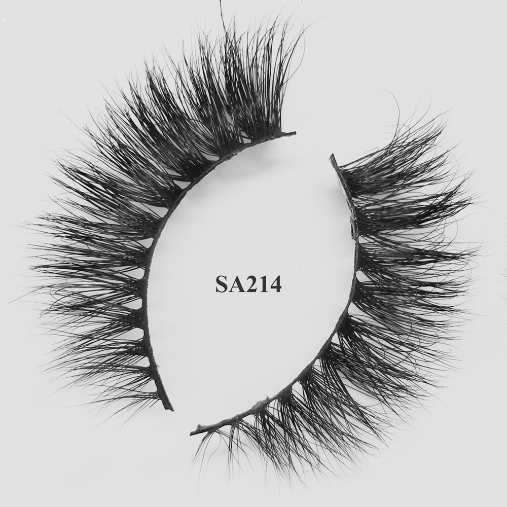 Top Quality Private Label Eye Lashes Natural Looking 3d Real Mink Lashes