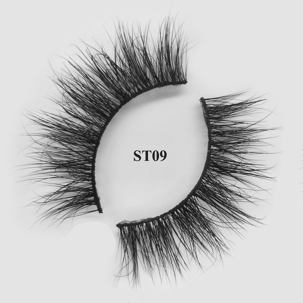 wholesale 3d mink hair eye lashes best natural looing false eyelashes