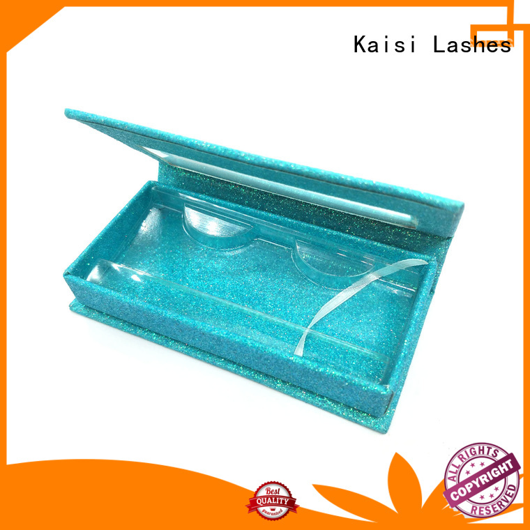 Kaisi top quality eyelash boxes wholesale competitive factory price for eyes