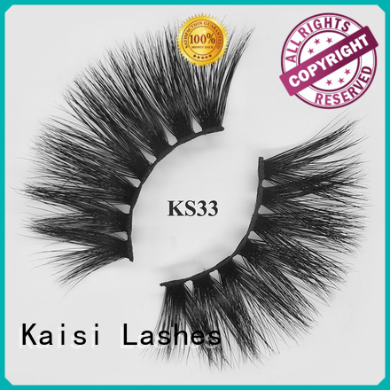 Kaisi custom 5d lashes bulk supply fast delivery