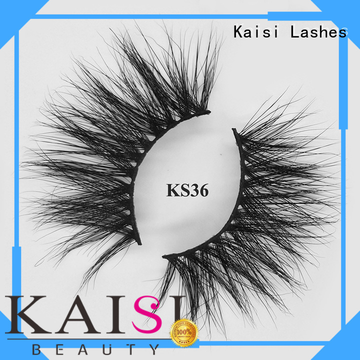 Kaisi wholesale 25mm mink lashes factory direct supply high quality