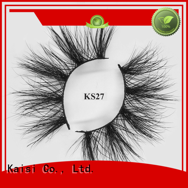 Kaisi mink 3d hair lashes bulk supply fast delivery