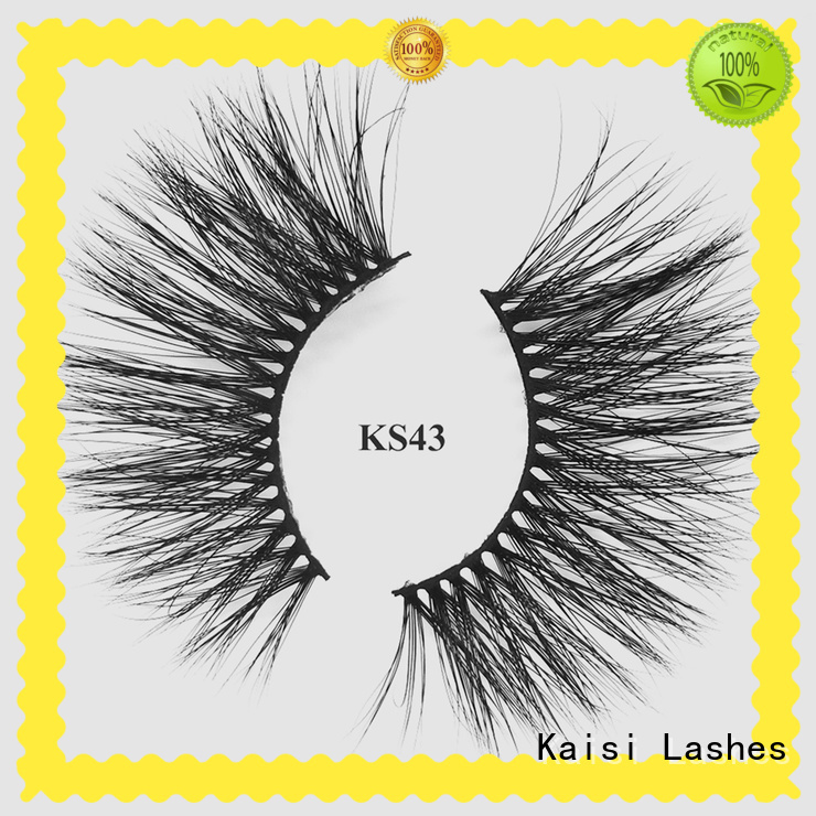 Kaisi wholesale applying false eyelashes factory direct supply fast delivery