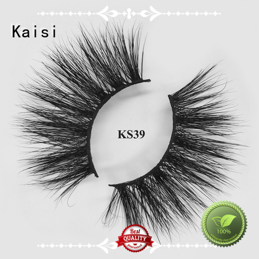 Kaisi light weight 5d mink lashes bulk supply fast delivery