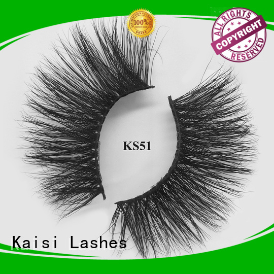 Kaisi wholesale mink eyelashes wholesale bulk supply high quality