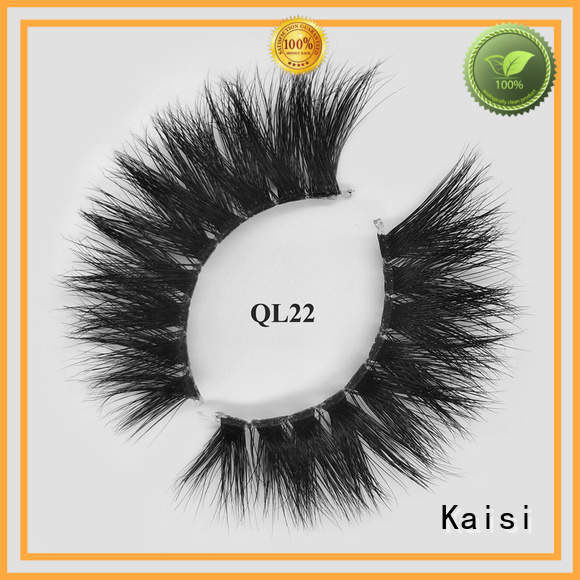 Kaisi mink strip lashes top brand for wholesale