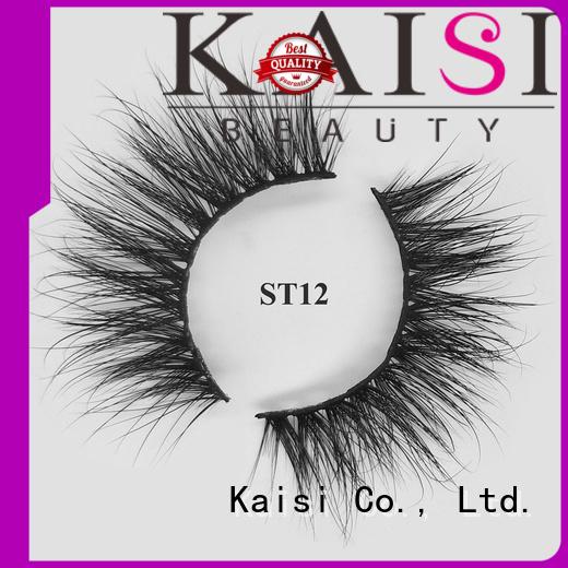 Kaisi regular mink lashes custom for wholesale