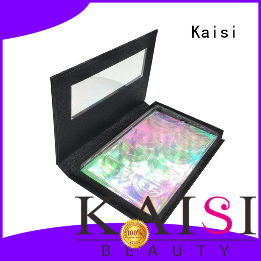 Kaisi oem&odm empty eyelash boxes top brand for lady