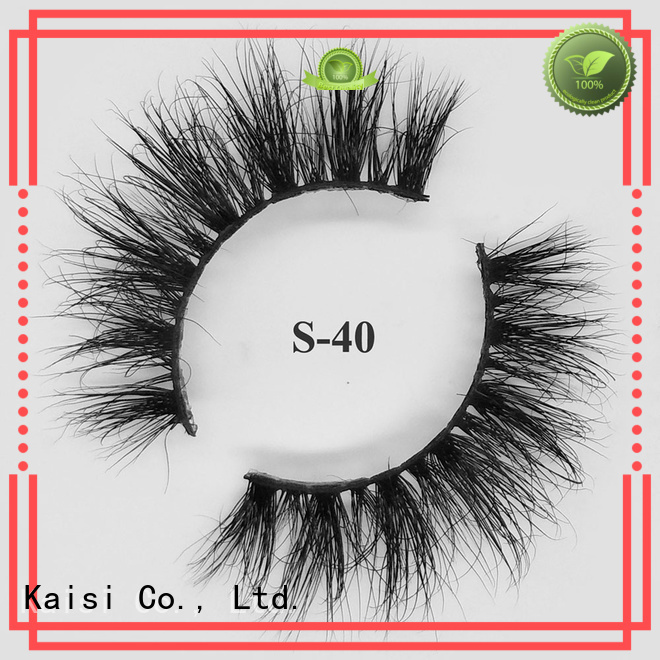 Kaisi hot sale real mink lashes high quality at sale