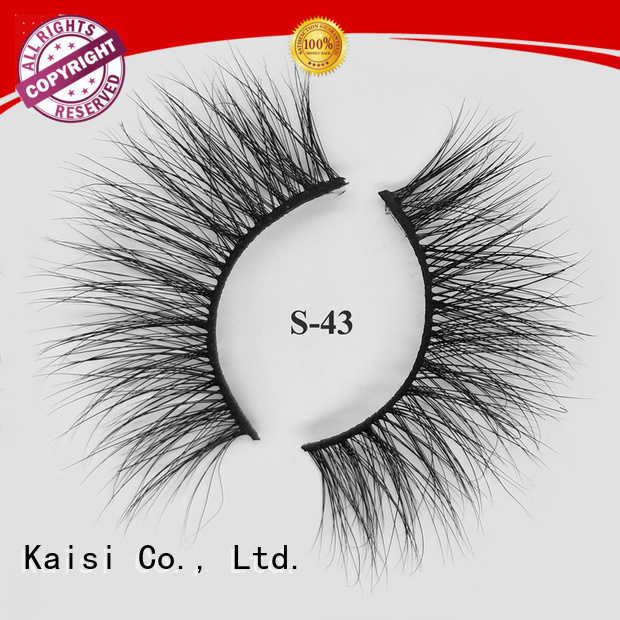 Kaisi mink strip lashes high quality at sale