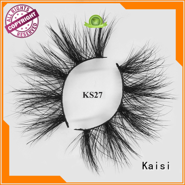 Kaisi wholesale 25mm mink lashes wholesale factory direct supply competitive price