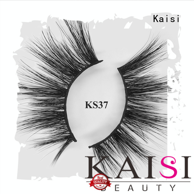 Kaisi custom 5d mink lashes natural looking competitive price